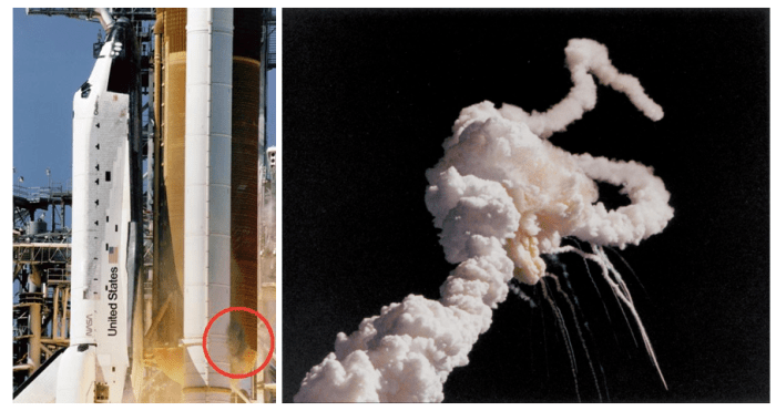 space shuttle challenger explodes after liftoff 1986