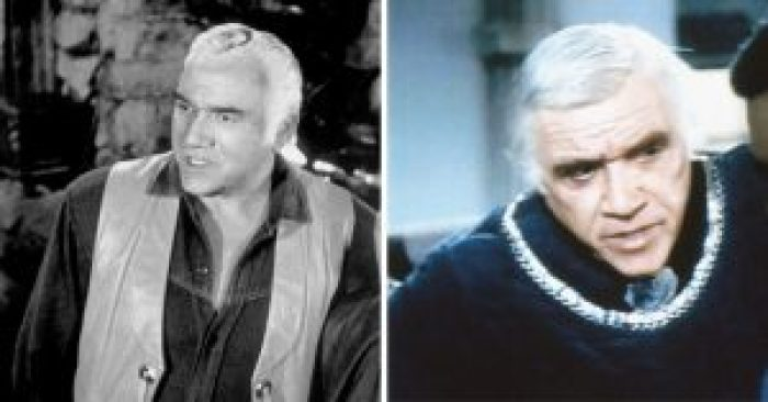 Lorne Greene then and now