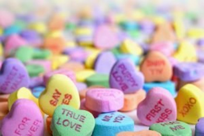 The candy hearts we know today look very different from how they started