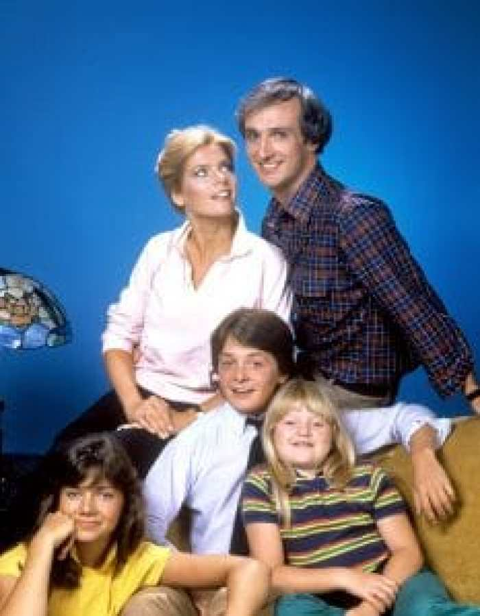 Michael Gross and Meredith Baxter Birney in Family Ties
