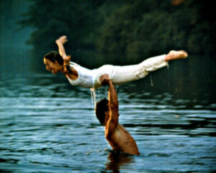 One of the movie's iconic songs come from Patrick Swayze's singing and songwriting