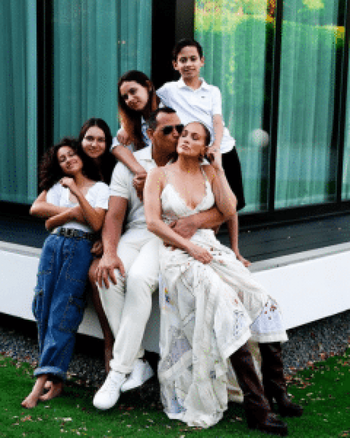 Lopez and Rodriguez's blended family