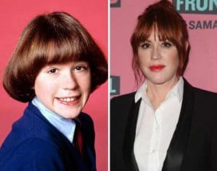 Molly Ringwald during and after her rocky start to the show