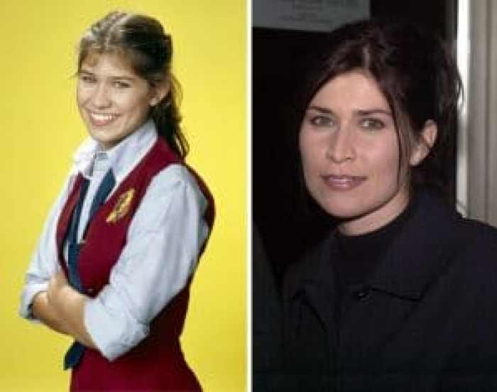 Nancy McKeon then and now