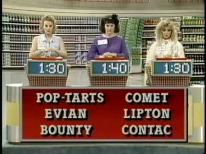 Supermarket Sweep in the 1990s