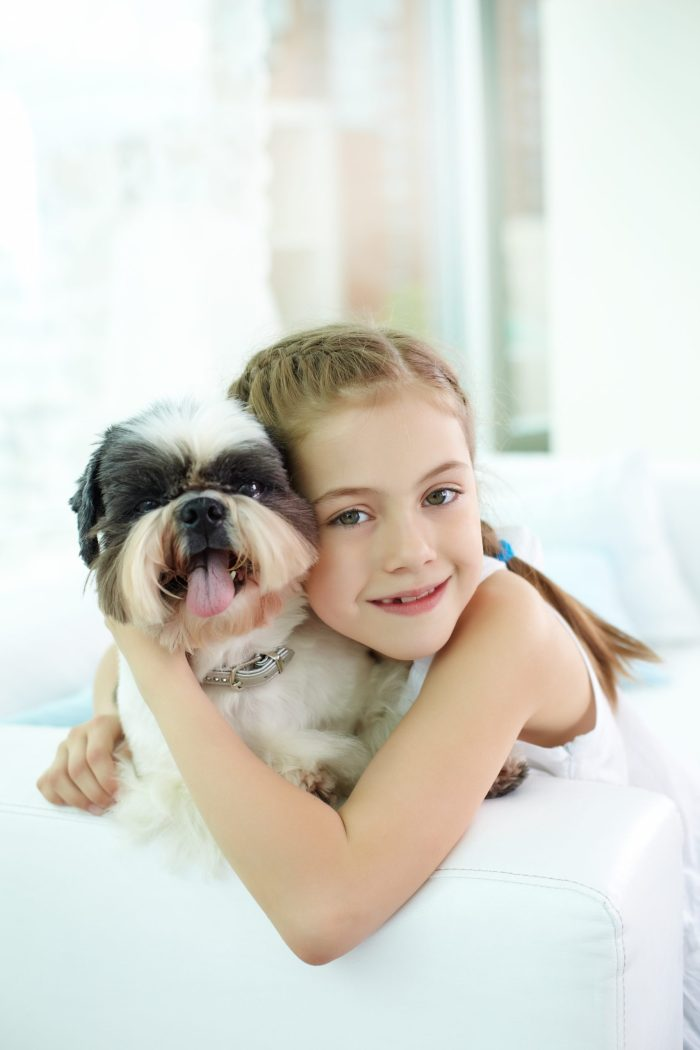 Research Shows Children Who Grow Up With Dogs Are Better Behaved