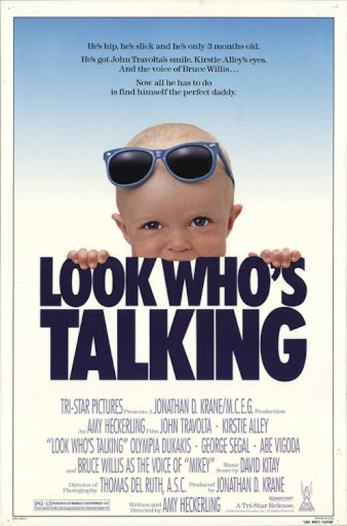 look whos talking movie poster