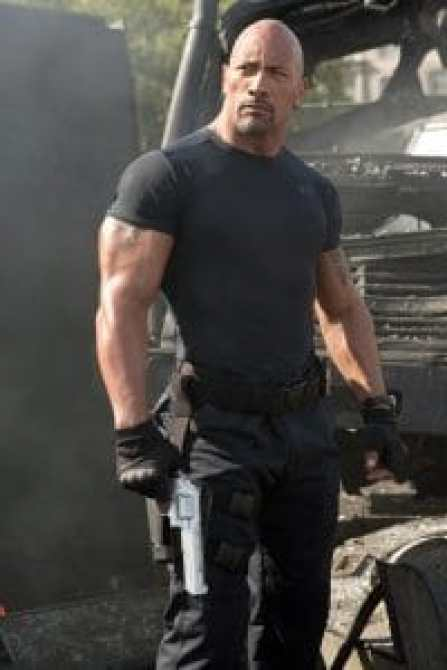 "Dwayne ""The Rock"" Johnson in Fast and Furious"