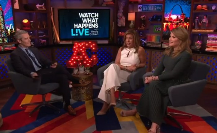 hoda kotb watch what happens live jenna bush hager andy cohen