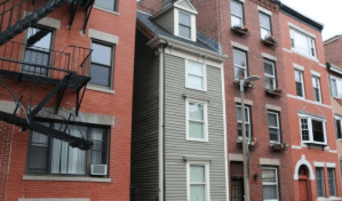 Boston's famous skinniest home