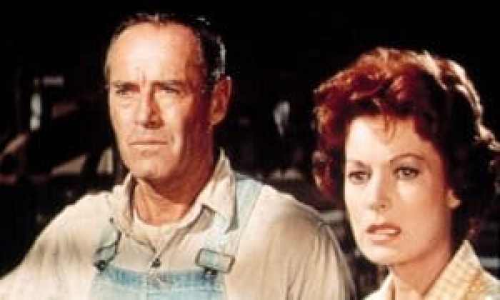 Fonda had some experience in the end, thanks to Spencer's Mountain the film