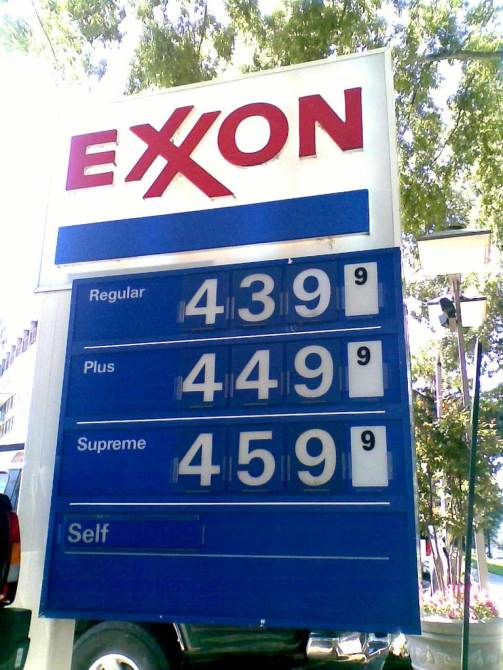 gas prices inflation
