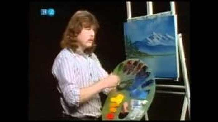 Steve required time to reconnect with painting, so associated with his father as it was