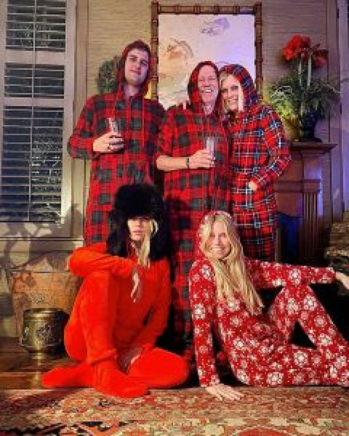Keith Richards and his family know how to celebrate the holidays in style