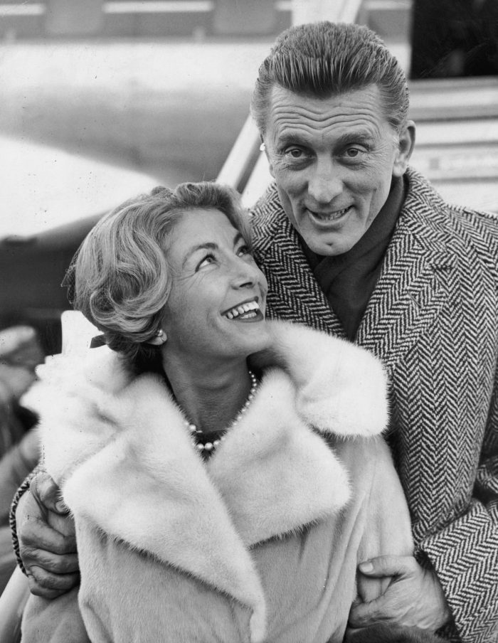 kirk douglas and wife anne buydens