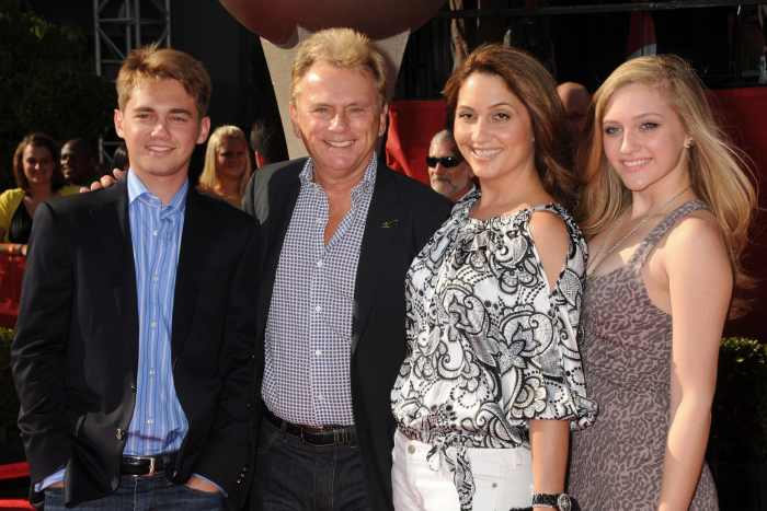 pat sajak and his whole family