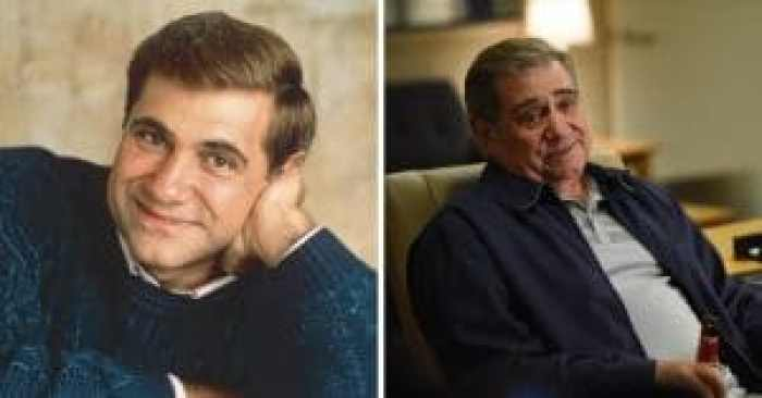 Dan Lauria then and now