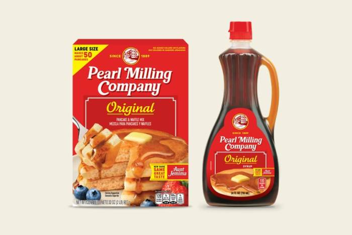 pearl milling company pancake mix and syrup