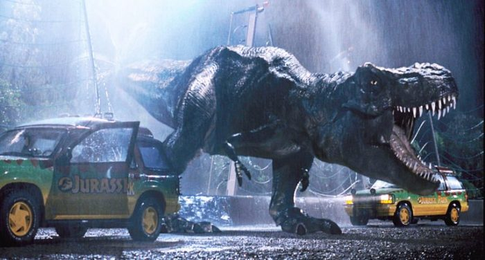 Drive-Ins Cause 'Jurassic Park' To Climb To No. 1 Spot For First Time In Nearly 30 Years