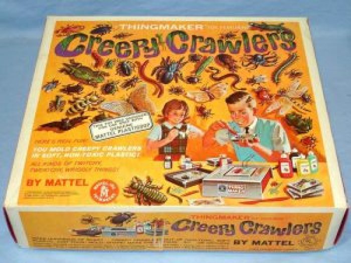 A Creepy Crawlers set gave you everything you needed to give someone a real scare