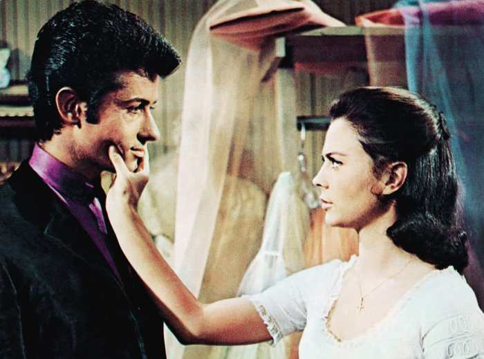 WEST SIDE STORY, from left: George Chakiris, Natalie Wood, 1961