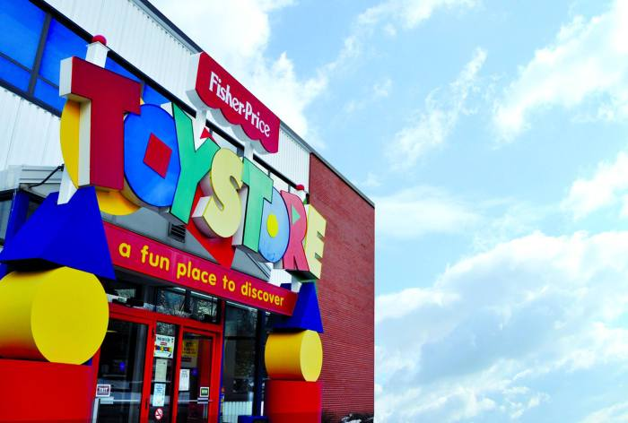 fisher price toy store