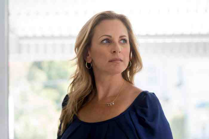 THIS CLOSE, Marlee Matlin in 'The Chances',