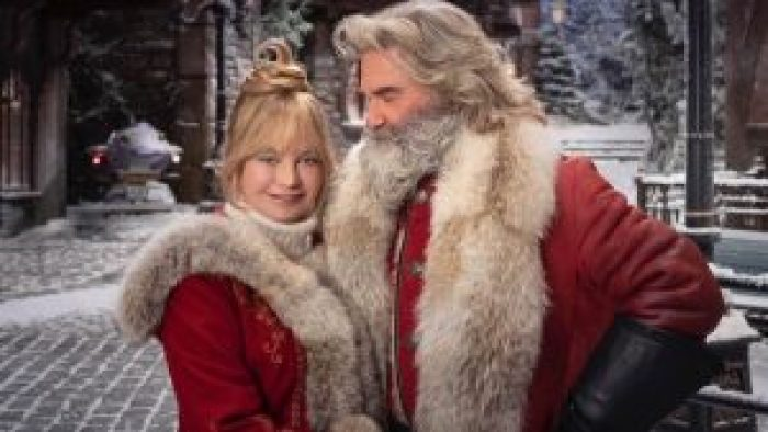Kate Hudson might have gotten some of her Christmas enthusiasm from her mother, who's appearing with Kurt Russell once again in The Christmas Chronicles 2