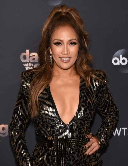 Judge Carrie Ann Inaba dancing with the stars