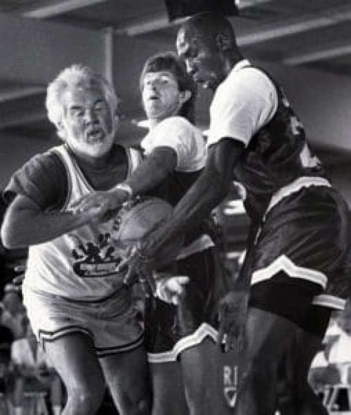 Kenny Rogers vs Michael Jordan in basketball, 1988