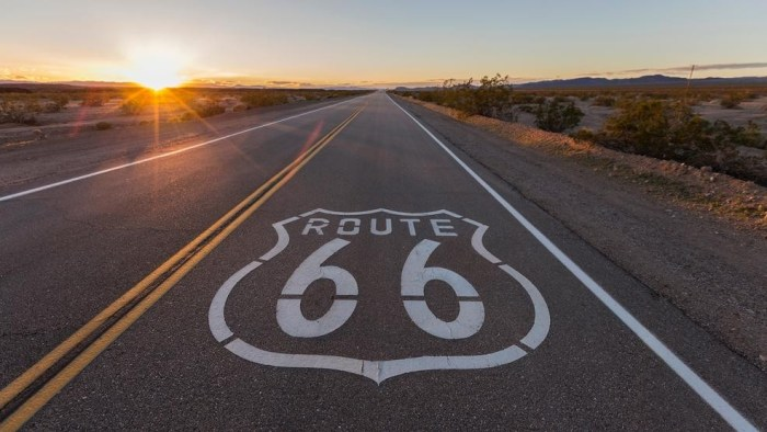 route 66 road