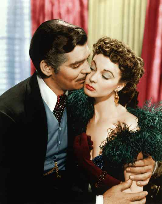 GONE WITH THE WIND Clark Gable, Vivien Leigh