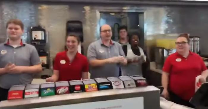 chick fil a employees