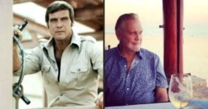 Lee Majors then and now