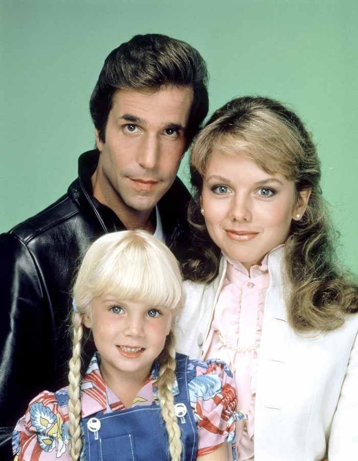Henry Winkler, Linda Purl, Heather O'Rourke happy days