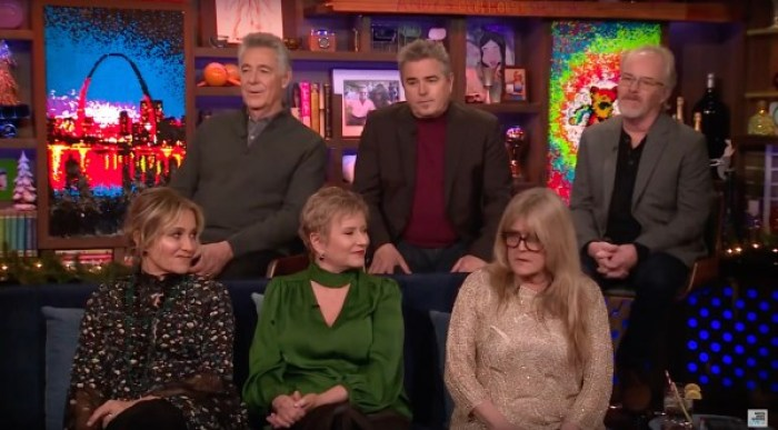 maureen mccormick talks about first kiss with barry williams