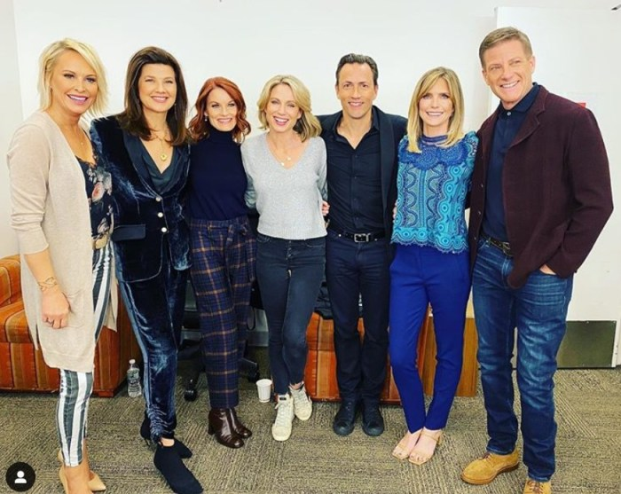 melrose place cast reunion interview