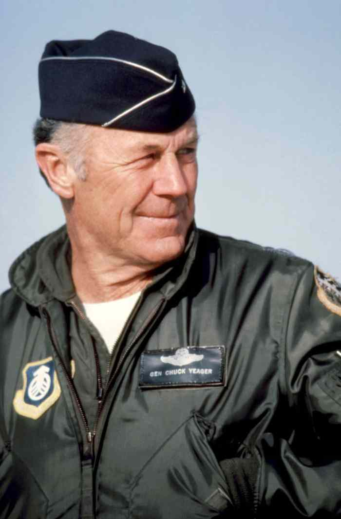 pilot chuck yeager