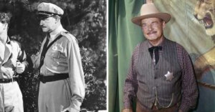 Ray Teal then and after
