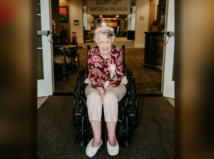 woman celebrates 107th birthday and credits drinking coca cola everyday