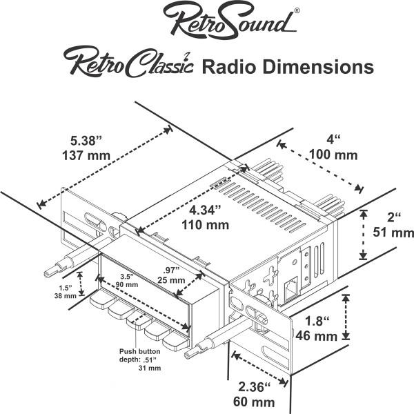 San Diego (DAB) : San Diego Classic DAB Car Radio Black