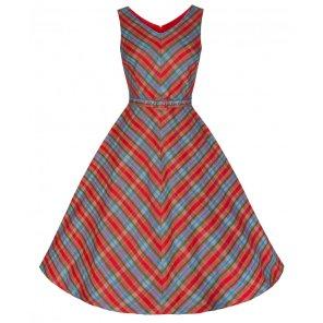 Lena Aztec Plaid Stripe Dress BUY