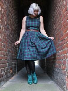 Green-Tartan-Dress