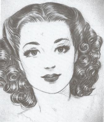 40er Frisur Anleitung 1940ies Hairstyles Selbst Kreieren Retrochicks