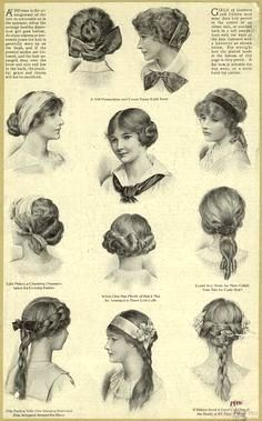 1910 1919 Titanic Chanel Max Factor Ballet Russes Retrochicks