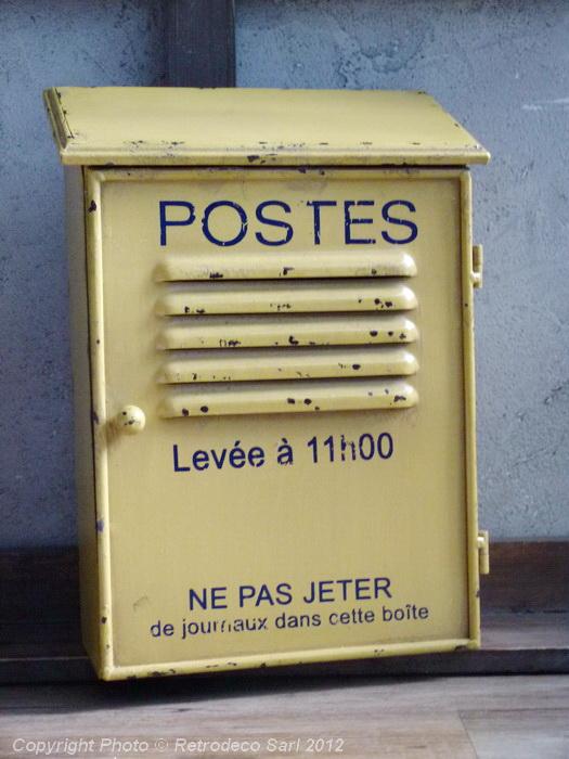 Bote Cls Postes Antic Line Dco Brocante SEB10518