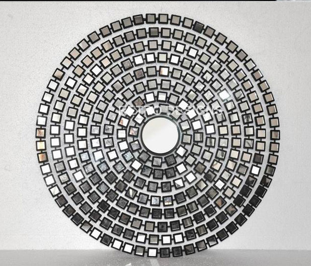 Mirrorton Round Mirror Wall Art