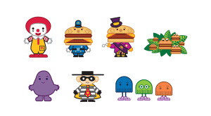 Character Art, McDonalds