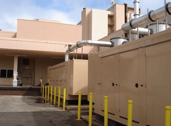 Kauai Marriott combined heat and power