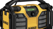 DEWALT has launched its new 12V MAX*/20V MAX** Charger/Radio DCR015.